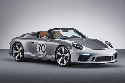 Porsche Reveals A 911 Speedster Concept To Celebrate Their 70th Birthday