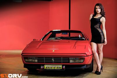 Natanya Malherbe - Ferrari 328 Gts  - Exclusive Interview & Pictures