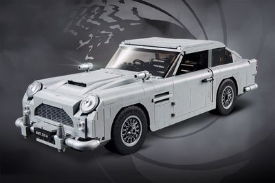 LEGO James Bond Aston Martin DB5 launches with ejector seat