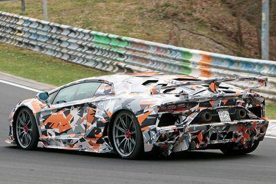 Hardcore Lamborghini Aventador Svj Breaks Nurburgring Lap Record