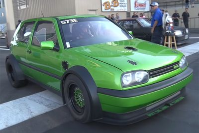 A 1600bhp Markiii Vw Golf Vr6... Er... Vr12? It's Faster Than You Think!