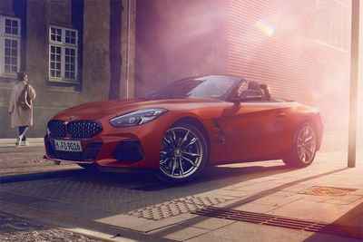 New 2019 BMW Z4 M40i Roadster Unveiled At Pebble Beach