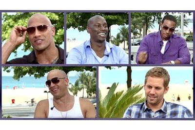 'My First Car' Interview With Vin Diesel, Paul Walker and The Rock
