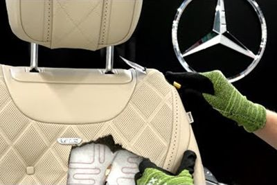 What's Inside A Mercedes S Class Seat?