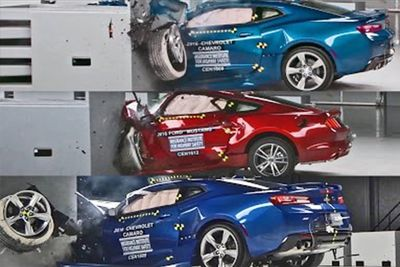 Muscle Car Crash Test – What Not To Buy