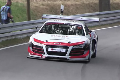 Prepare To Be Amazed By This Inline-Four Audi R8