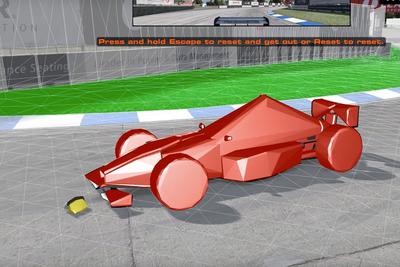How Video Game Designers Create Car Damage