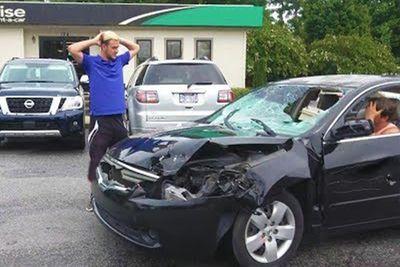Destroying Rental Cars: A Prank
