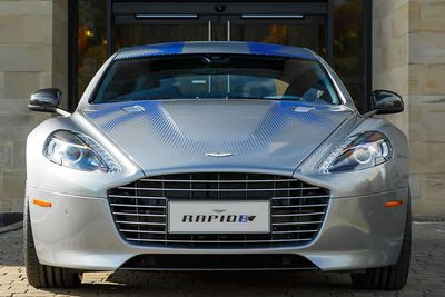 The New, Battery-Powered Aston Martin Rapide E Has Over 602bhp