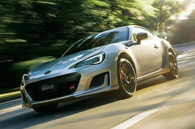 SUBARU BRZ Facelift & New Suspension