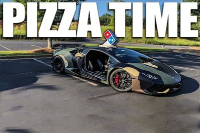 Pizza Delivery In A Lambo Is Harder Than You Think