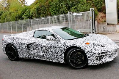 The All New Mid-Engine Corvette Has Been Spotted At The Nürburgring