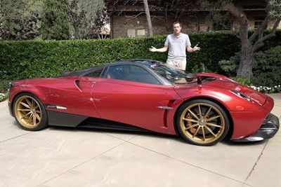 Here's Everything That's Weird And Awesome On A Pagani Huayra