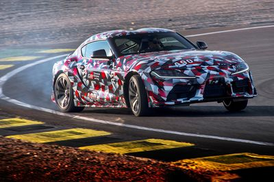 Chad Luckhoff Flew To Spain To Test Drive The New Toyota Supra