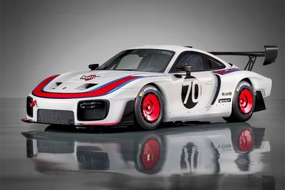 Porsche celebrates their 70th with the 935 Le Mans tribute