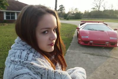 16 Year Old Girl Hates Lamborghini Birthday Present
