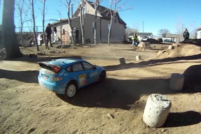 Remote Control Rally Racing Looks Like Good Fun