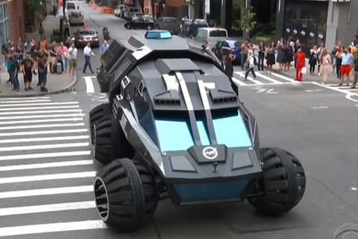 Mars Rover Takes On Streets Of NYC