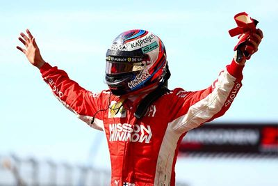 Kimi Wins USA GP As Hamilton's 5th World Title Postponed