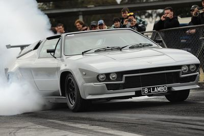 Twin Turbo Lamborghini With LS Swap