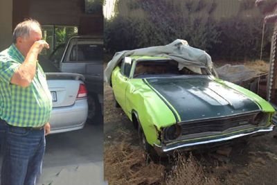 Parents Reaction To Son Restoring A 45 Year-Old Ford