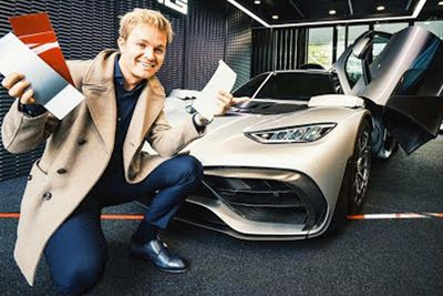 Nico Rosberg Customises His AMG Project One