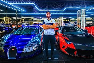 Check Out The Most Expensive Garage In Dubai