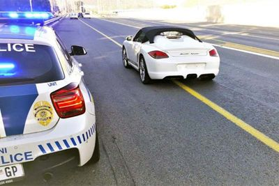 'Late For Golf' Porsche Driver In Caught Doing 218 KM/H In Johannesburg