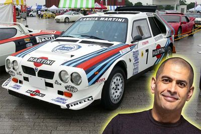 Chris Harris Meets His Rally Group B Hero's
