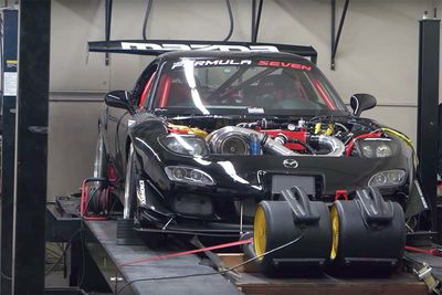 This Mazda Turbo 4 Rotor RX-7 Is Sensational