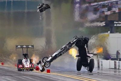 Drag Racing Crashes That'll Leave A Mark!