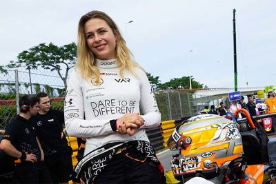 Sophia Florsch Survives A Crazy Formula 3 Crash