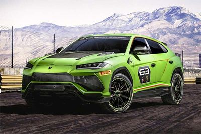 Let's Race! Lamborghini Urus ST-X Racing SUV On Its Way