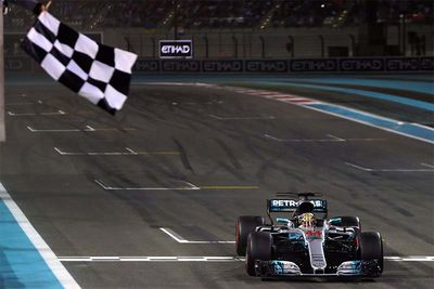 Hamilton Wins In Abu Dhabi And Will Smith Drops In