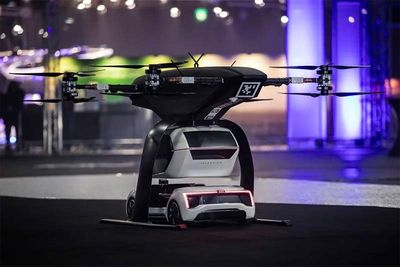 Lift-Off for Audi's 'all-electric and self-driving' flying drone car