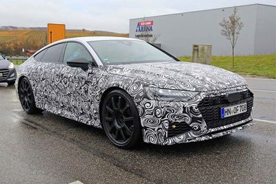 Check Out The 2019 Audi RS7's Production Body