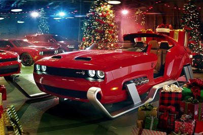 We Hope You Like Your Helldeer sleigh, Santa