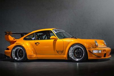 RAUH-Welt Begriff's Amazing Porsche 911 964 C4 'HIBIKI' Build