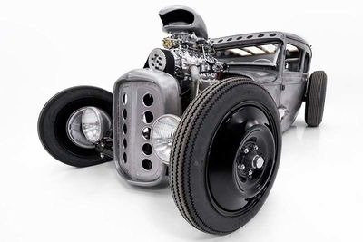 A Rat Rod As Metal As Its Owner – And It's On Auction!