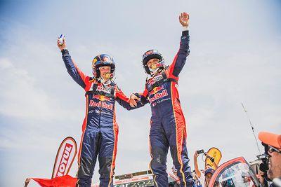 Toyota Gazoo Racing SA's Nasser Al Attiyah and Mathieu Baumel Win Dakar 2019