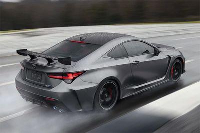 Lexus Unveils Bonkers RC F Track Edition