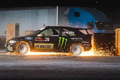 Ken Block's Gymkhana Ten – More Smoke And Sideways Action!