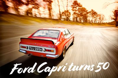 The Ford Capri Coupe Celebrates A 50-Year History