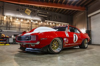 This 1969 Camaro Called Big Red Pushes Out 2000hp!