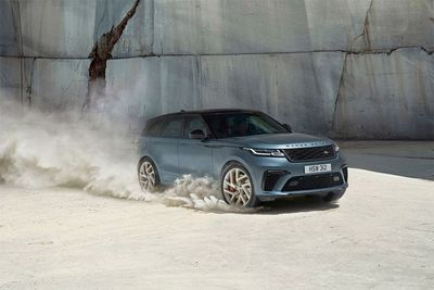 The Range Rover Velar Receives A 542bhp supercharged V8