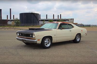 Farm-Find Rescue! A Plymouth Duster Big-Block Swap