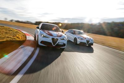 Alfa Romeo Giulia and Stelvio Quadrifoglios Get Special F1-Inspired Treatment