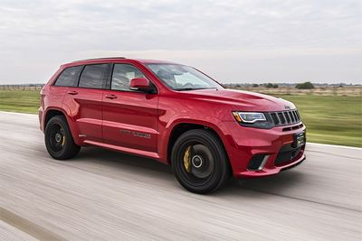 Hennessey Gives The Jeep Grand Cherokee Trackhawk A Frightful 1182bhp