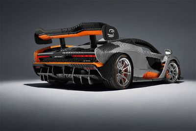 Full-Scale 500,000 Piece Lego McLaren Senna