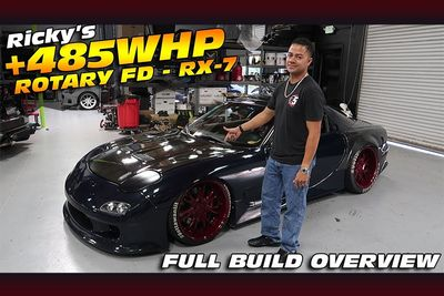 This 485whp Mazda RX-7 FD Build Is Awesome